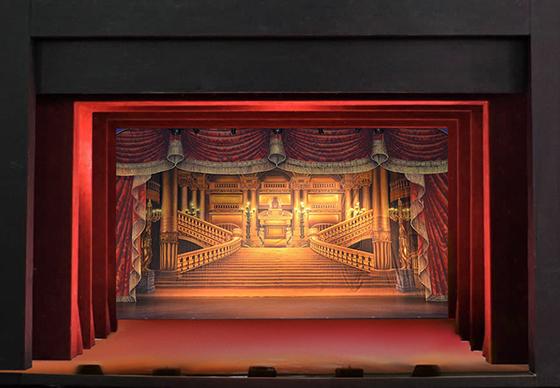 декорации сцены